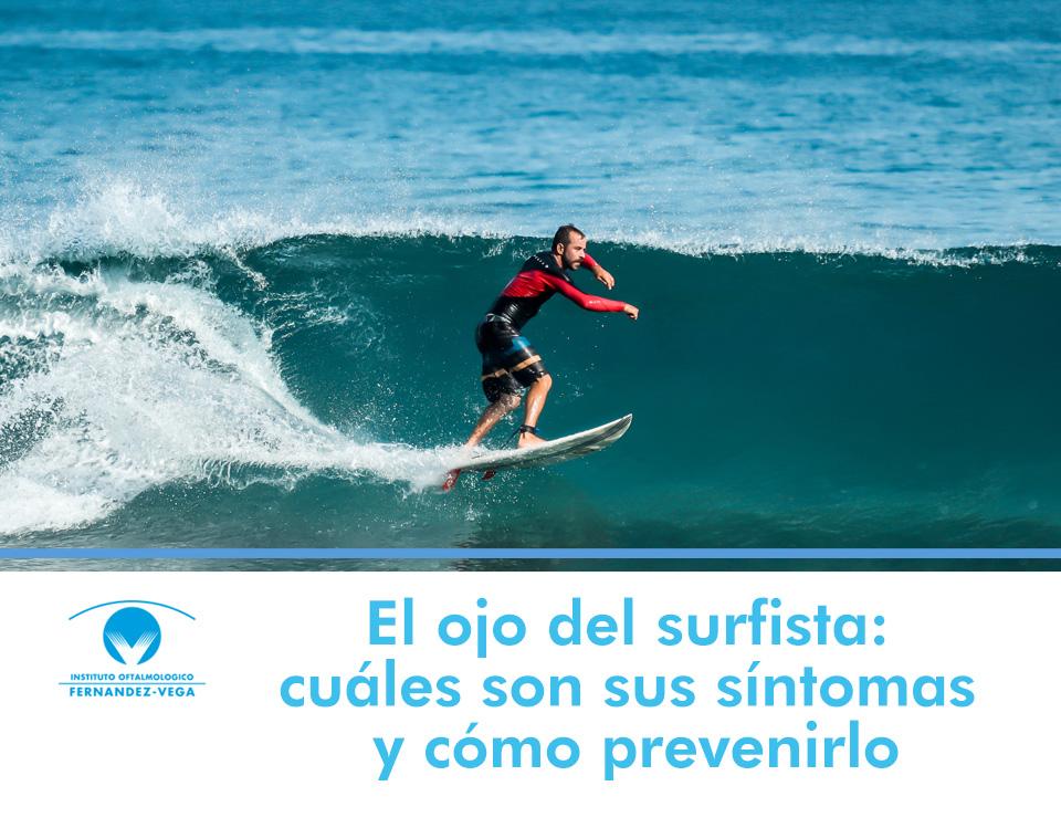 El ojo del surfista: cuáles son sus síntomas y cómo prevenirlo