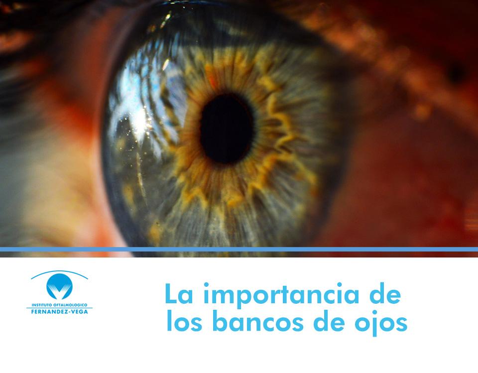 La importancia de los bancos de ojos