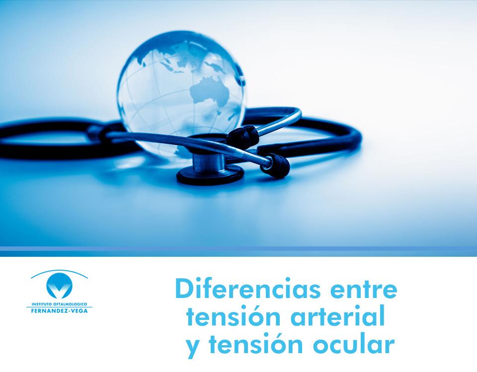 Diferencias entre la tensión arterial y la tensión ocular
