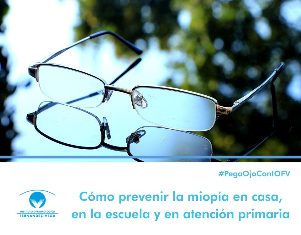 Cómo prevenir la miopía en casa, en la escuela y en atención primaria