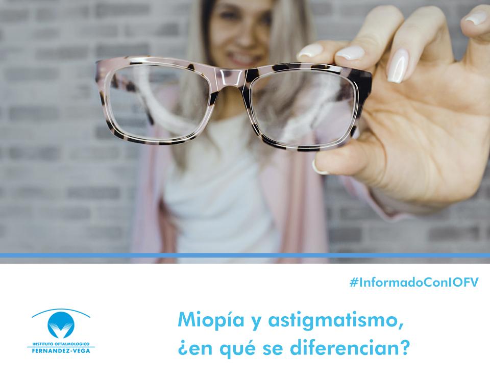 Miopía y astigmatismo, ¿en qué se diferencian?