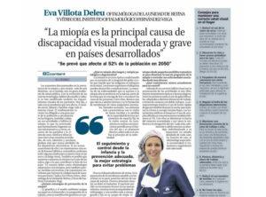 Eva Villota en La Nueva España